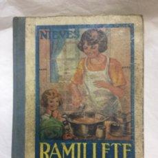 Libros antiguos: RAMILLETE DEL AMA DE CASA - OVIEDO 1964 32ª ED. - 270 P. - BUEN ESTADO - 20X14CM. Lote 182837885