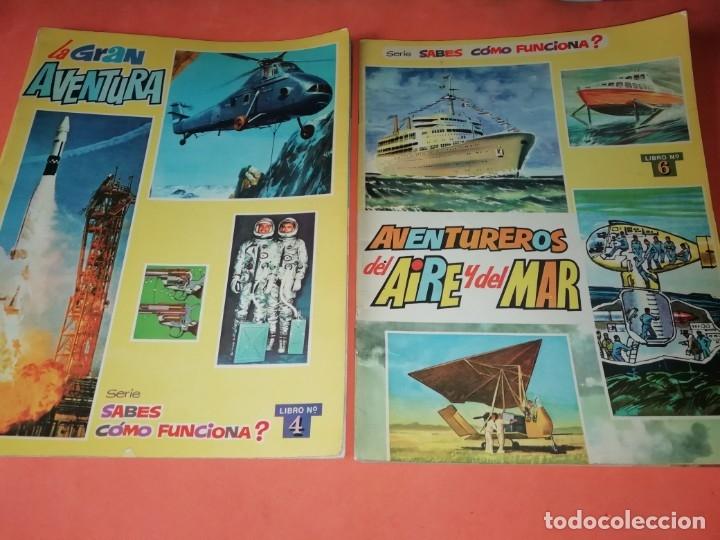 Libros antiguos: ¿SABES COMO FUNCIONA ? VASCOAMERICANA 1972, NUMEROS 2,3,4 Y 6. SUPERAUTOS.PLESA SM 1979 - Foto 3 - 182843725