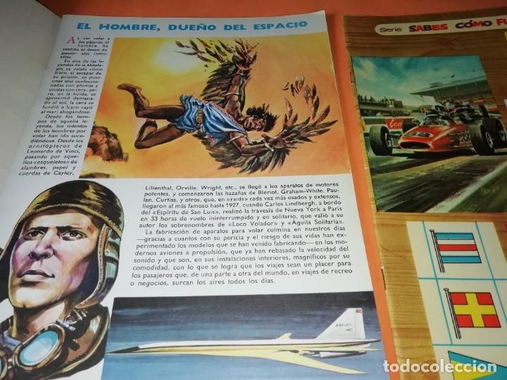 Libros antiguos: ¿SABES COMO FUNCIONA ? VASCOAMERICANA 1972, NUMEROS 2,3,4 Y 6. SUPERAUTOS.PLESA SM 1979 - Foto 5 - 182843725