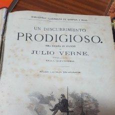 Libros antiguos: AUT.-JULIO VERNE.- TITULO OBRAS COMPLETAS 3 TOMOS1874,JMOLINA1946. Lote 182871026