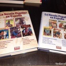 Libros antiguos: LA NOVELA POPULAR EN ESPAÑA VOLUMENES 1 Y 2. Lote 182874002