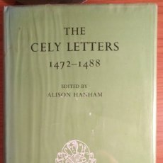 Libros antiguos: THE CELY LETTERS 1472-1488, EARLY ENGLISH TEXT SOCIETY, OXFORD 1975. Lote 182882715