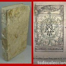 Libros antiguos: 1539. POST INCUNABLE DE GRAN TAMAÑO. BELLAS LETRAS CAPITULARES. RARISIMO. Lote 182906965
