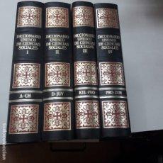 Libros antiguos: DICCIONARIO UNESCO DE CIENCIAS SOCIALES . Lote 182908747