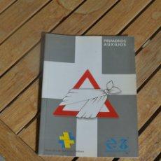 Libros antiguos: LIBRO DE PRIMEROS AUXILIOS RENFE.DIRECCIÓN DE SERVICIOS MEDICOS.SERVICIO DE PREVENCIÓN,1992. Lote 182913061