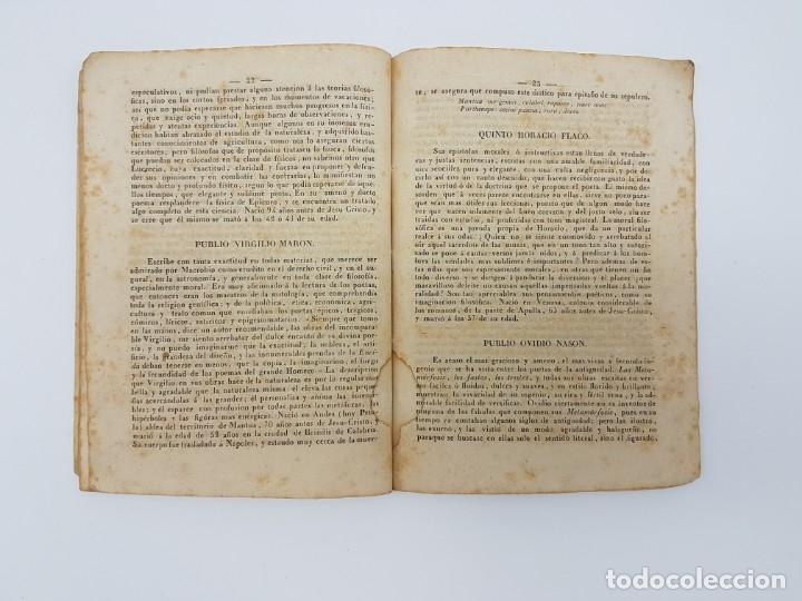 Libros antiguos: BREVE HISTÓRIA FILÓSOFOS QUE SE HALLAN EN EL MUSEO ( ZAFONT FERRER, 1841 ) - Foto 6 - 182954936