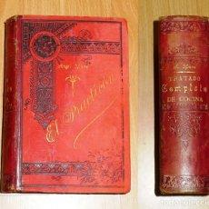 Libros antiguos: MURO, ÁNGEL. EL PRACTICÓN : TRATADO COMPLETO DE COCINA AL ALCANCE DE TODOS Y APROVECHAMIENTO DE SOBR. Lote 182970710