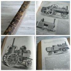 Libros antiguos: ENGINEERING (LONDRES, JULIO-DICIEMBRE 1881) - INGENIERÍA, FERROCARRILES, MAQUINARIA.... Lote 183021007