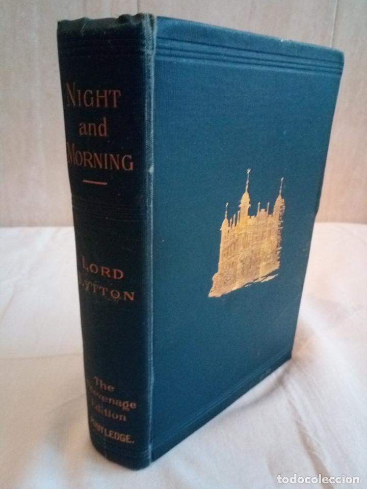 Libros antiguos: 7-.NIGHT AND MORNING, Lord Litton, Nueva York 1851, en ingles - Foto 2 - 183036511