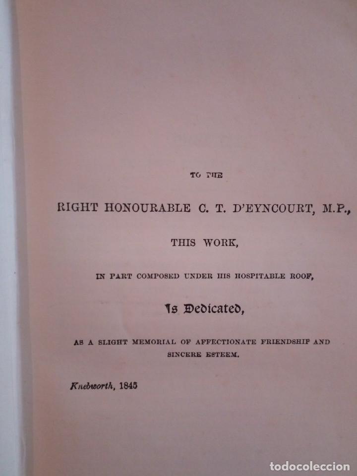 Libros antiguos: 7-.NIGHT AND MORNING, Lord Litton, Nueva York 1851, en ingles - Foto 5 - 183036511