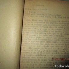 Libros antiguos: LA PROMESA LIBRO ORIGINAL INEDITO DE CARLOS HERRERO 74 PAGINAS. Lote 183039553