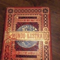 Libros antiguos: EL MUNDO ILUSTRADO. BIBLIOTECA DE LAS FAMILIAS. TOMO II. Lote 183188685