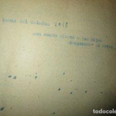 Libros antiguos: EL LUGARICO TEMPLO JAVALI VIEJO MURCIA LIBRO ARTESANAL INEDITO CARLOS HERRERO ENTORNO DEL CALAÑES. Lote 183198152