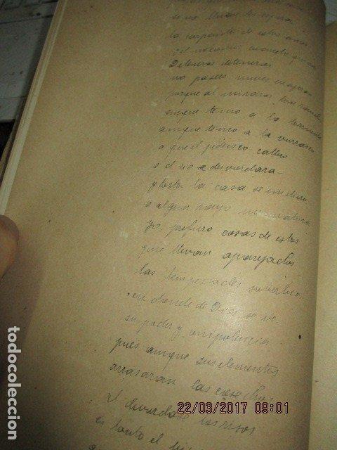 Libros antiguos: CARLOS HERRERO MUÑOZ MANISCRITO POESIA REFLEXION inedito original Dolores y mas dolores - Foto 2 - 183219973