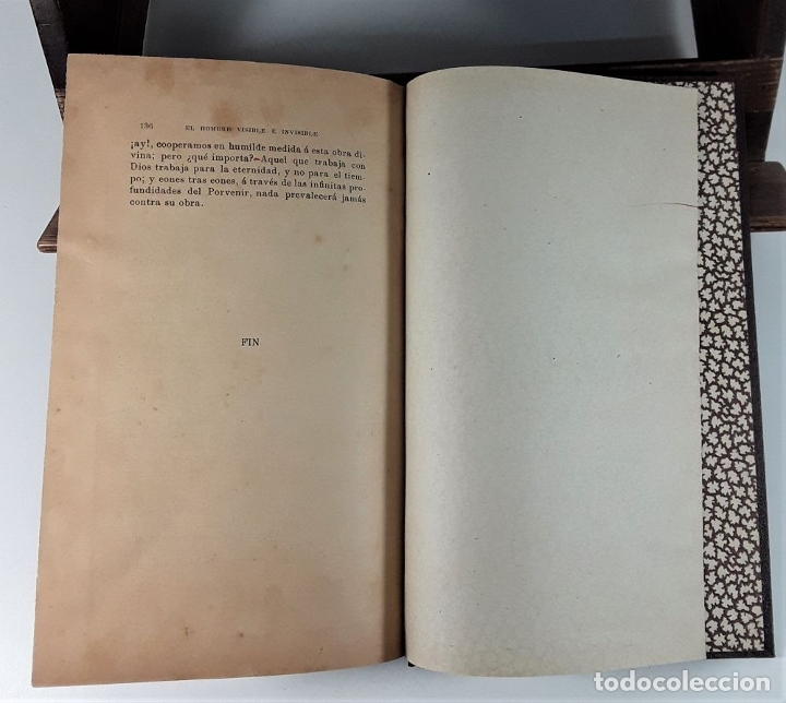 Libros antiguos: EL HOMBRE VISIBLE É INVISIBLE. C. W. LEADBEATER. BARCELONA. 1908. - Foto 9 - 183253330