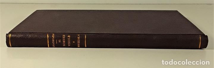 EL HOMBRE VISIBLE É INVISIBLE. C. W. LEADBEATER. BARCELONA. 1908. (Libros Antiguos, Raros y Curiosos - Pensamiento - Otros)