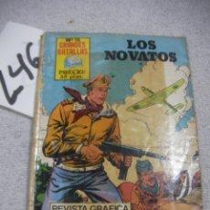Libros antiguos: GRANDES BATALLAS - LOS NOVATOS. Lote 183260027