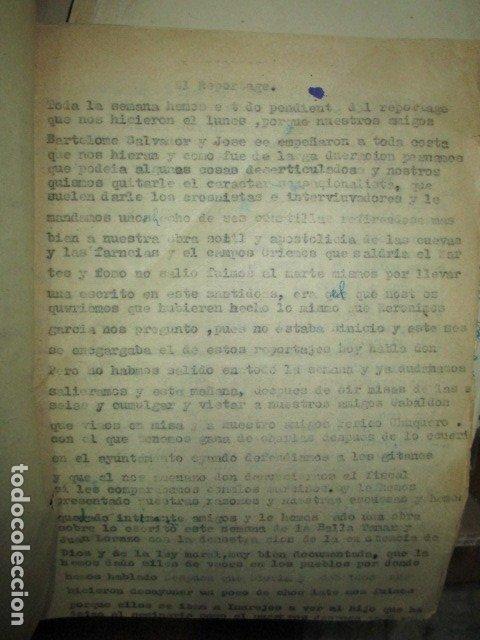 Libros antiguos: el reportage BIOGRAFIA ANTIGUO LIBRO original e inedito DE CARLOS HERRERO MUÑOZ años 30 - Foto 2 - 183346003
