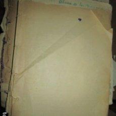Libros antiguos: EL REPORTAGE BIOGRAFIA ANTIGUO LIBRO ORIGINAL E INEDITO DE CARLOS HERRERO MUÑOZ AÑOS 30. Lote 183346003