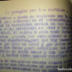 Libros antiguos: LA ESCURSION POR LOS PARTIDOS OBRA ORIGINAL E INEDITO DE CARLOS HERRERO MUÑOZ. Lote 183346107