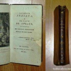 Libros antiguos: SAINT-PIERRE, JACQUES-HENRI BERNARDIN DE. LA CABAÑA INDIANA ; EL CAFÉ DE SURATE : CUENTOS. - 1811. Lote 183367631