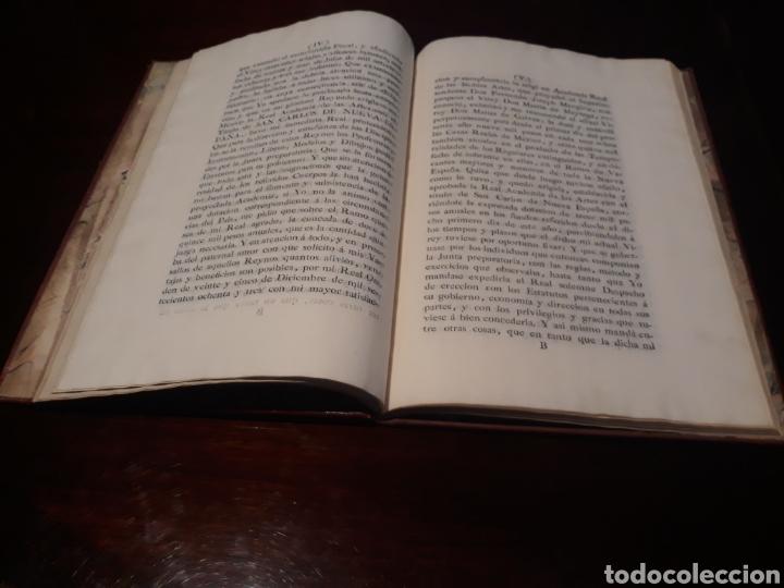 Libros antiguos: ESTATUTOS DE LA REAL ACADEMIA DE SAN CARLOS DE NUEVA ESPAÑA - EN LA IMPRENTA NUEVA MEXICANA - 1785 - Foto 8 - 183384338