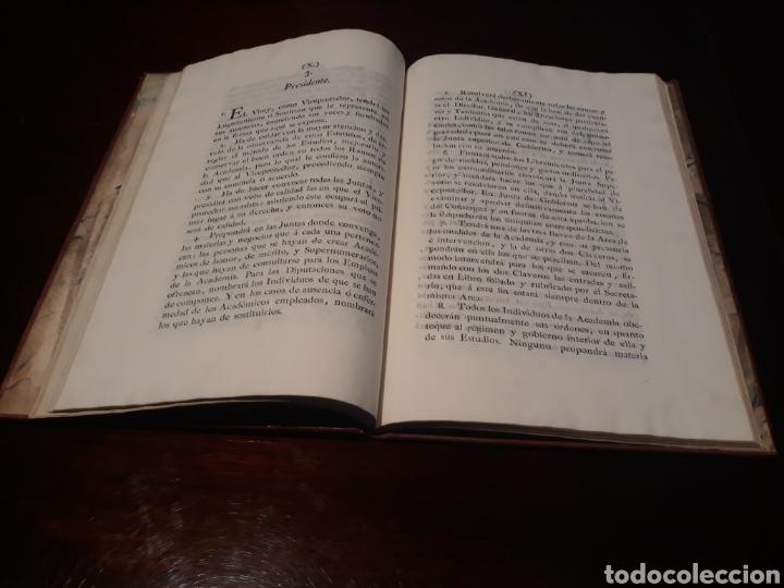 Libros antiguos: ESTATUTOS DE LA REAL ACADEMIA DE SAN CARLOS DE NUEVA ESPAÑA - EN LA IMPRENTA NUEVA MEXICANA - 1785 - Foto 11 - 183384338