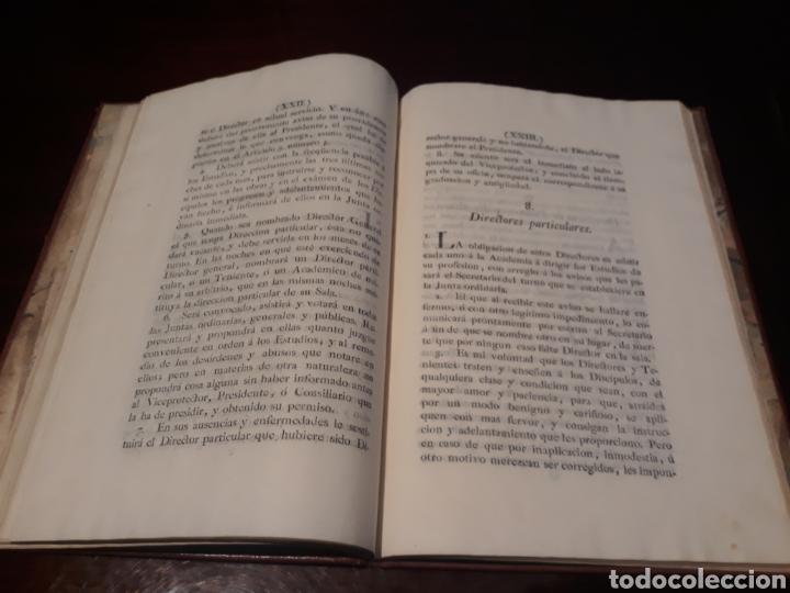 Libros antiguos: ESTATUTOS DE LA REAL ACADEMIA DE SAN CARLOS DE NUEVA ESPAÑA - EN LA IMPRENTA NUEVA MEXICANA - 1785 - Foto 17 - 183384338