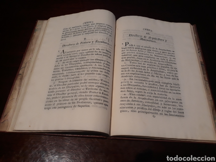Libros antiguos: ESTATUTOS DE LA REAL ACADEMIA DE SAN CARLOS DE NUEVA ESPAÑA - EN LA IMPRENTA NUEVA MEXICANA - 1785 - Foto 18 - 183384338