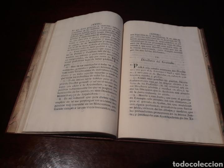 Libros antiguos: ESTATUTOS DE LA REAL ACADEMIA DE SAN CARLOS DE NUEVA ESPAÑA - EN LA IMPRENTA NUEVA MEXICANA - 1785 - Foto 19 - 183384338