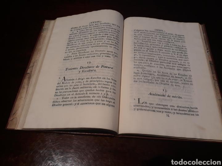 Libros antiguos: ESTATUTOS DE LA REAL ACADEMIA DE SAN CARLOS DE NUEVA ESPAÑA - EN LA IMPRENTA NUEVA MEXICANA - 1785 - Foto 20 - 183384338