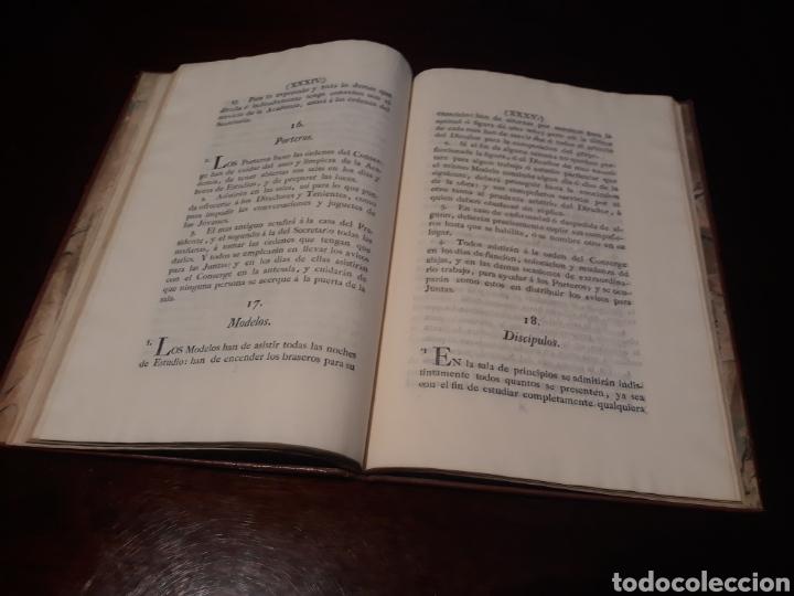 Libros antiguos: ESTATUTOS DE LA REAL ACADEMIA DE SAN CARLOS DE NUEVA ESPAÑA - EN LA IMPRENTA NUEVA MEXICANA - 1785 - Foto 23 - 183384338