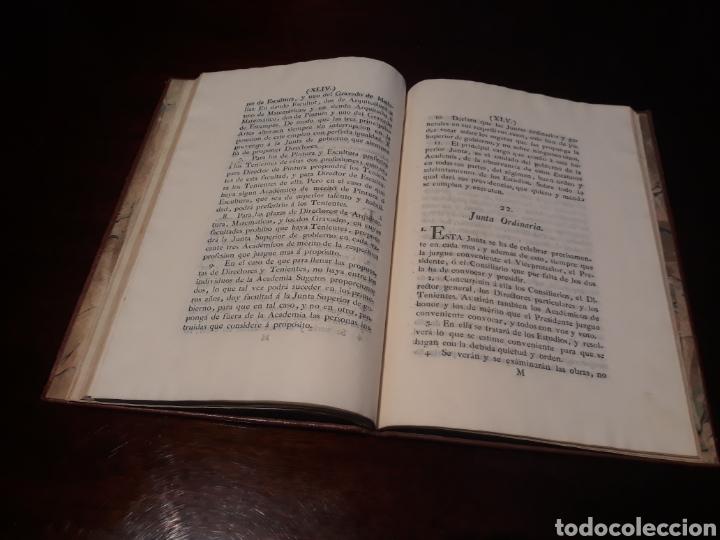 Libros antiguos: ESTATUTOS DE LA REAL ACADEMIA DE SAN CARLOS DE NUEVA ESPAÑA - EN LA IMPRENTA NUEVA MEXICANA - 1785 - Foto 28 - 183384338
