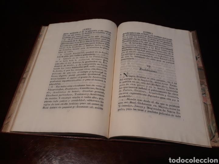 Libros antiguos: ESTATUTOS DE LA REAL ACADEMIA DE SAN CARLOS DE NUEVA ESPAÑA - EN LA IMPRENTA NUEVA MEXICANA - 1785 - Foto 37 - 183384338