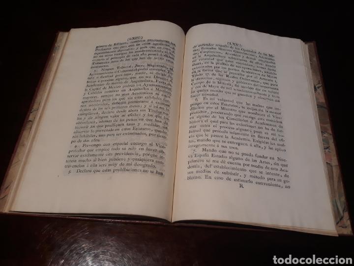 Libros antiguos: ESTATUTOS DE LA REAL ACADEMIA DE SAN CARLOS DE NUEVA ESPAÑA - EN LA IMPRENTA NUEVA MEXICANA - 1785 - Foto 38 - 183384338