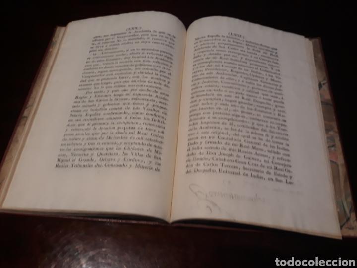 Libros antiguos: ESTATUTOS DE LA REAL ACADEMIA DE SAN CARLOS DE NUEVA ESPAÑA - EN LA IMPRENTA NUEVA MEXICANA - 1785 - Foto 41 - 183384338