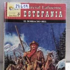 Libros antiguos: 28609 - NOVELAS DEL OESTE - ESTEFANIA - COL GUN-MAN - EL BORRACHO BILL - Nº 39. Lote 183398803