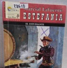 Libros antiguos: 28610 - NOVELAS DEL OESTE - ESTEFANIA - COL GUN-MAN - EL ESTUDIANTE - Nº 77. Lote 183398813