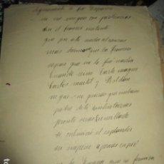 Libros antiguos: DIGNAMENTE FUE ESPAÑA MANUSCRITO ORIGINAL E INEDITO DE CARLOS HERRERO MUÑOZ FIRMADO 1933. Lote 183410417