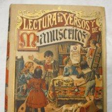 Libros antiguos: EL PENSAMIENTO INFANTIL, ED. SATURNINO CALLEJA, LECTURA DE VERSOS Y DE MANUSCRITOS. MADRID. 1901 . Lote 183456915