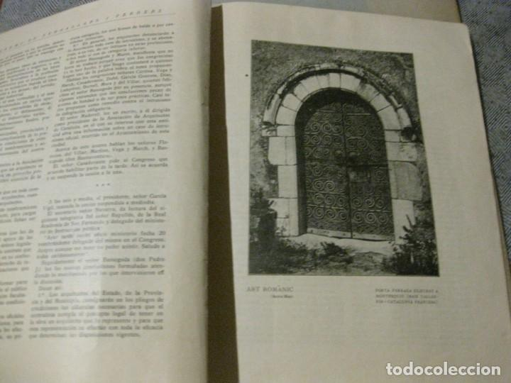 Libros antiguos: revista del gremi de serrallers i ferrers de barcelona de lart de la forja nº 21 año 1922 arquitect - Foto 3 - 183474981