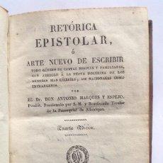 Libros antiguos: GIRONA 1828 * ARTE DE ESCRIBIR CARTAS Y PRINCIPALES CAMINOS DE ESPAÑA. Lote 183482903