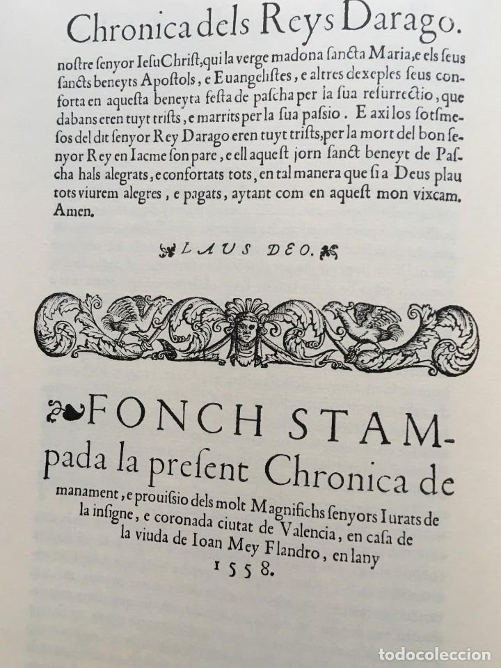 Libros antiguos: LES QUATRE GRANS CRÒNIQUES. 5 VOLS. - Jaume I - Bernat Desclot - Muntaner - Pere -LIMITADA NUMERADA - Foto 4 - 183507750