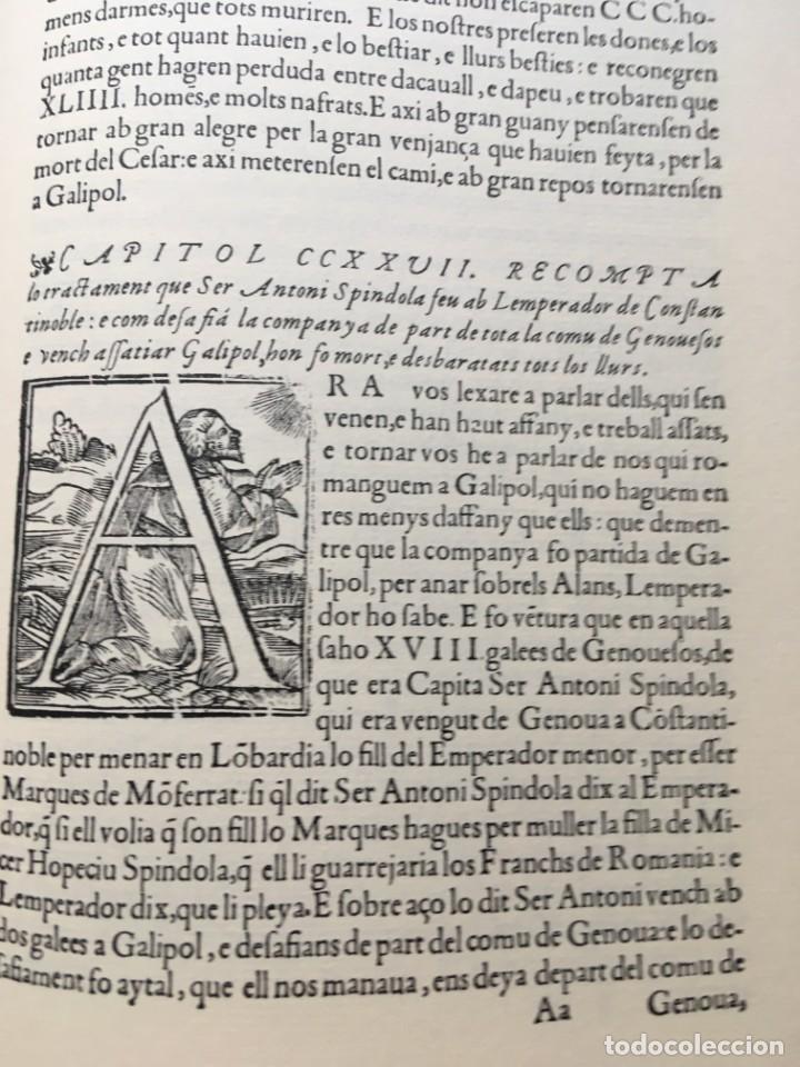 Libros antiguos: LES QUATRE GRANS CRÒNIQUES. 5 VOLS. - Jaume I - Bernat Desclot - Muntaner - Pere -LIMITADA NUMERADA - Foto 7 - 183507750