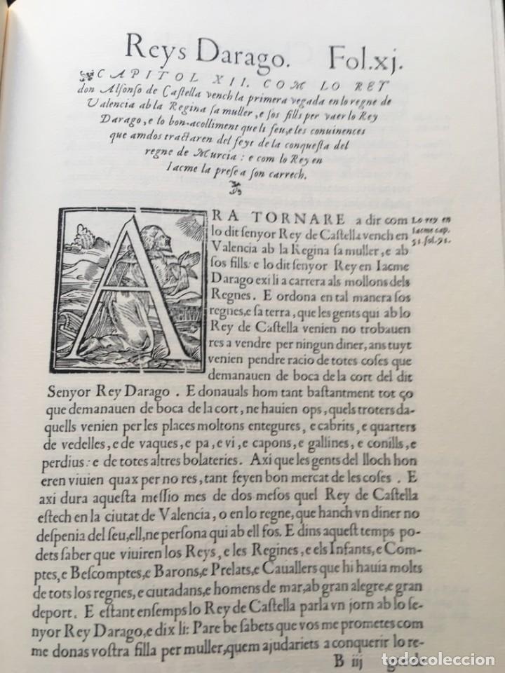 Libros antiguos: LES QUATRE GRANS CRÒNIQUES. 5 VOLS. - Jaume I - Bernat Desclot - Muntaner - Pere -LIMITADA NUMERADA - Foto 11 - 183507750