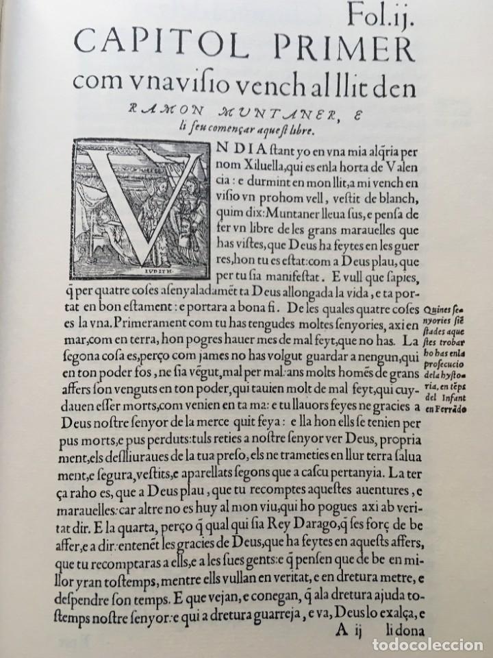 Libros antiguos: LES QUATRE GRANS CRÒNIQUES. 5 VOLS. - Jaume I - Bernat Desclot - Muntaner - Pere -LIMITADA NUMERADA - Foto 12 - 183507750