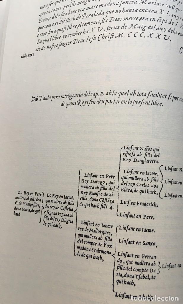 Libros antiguos: LES QUATRE GRANS CRÒNIQUES. 5 VOLS. - Jaume I - Bernat Desclot - Muntaner - Pere -LIMITADA NUMERADA - Foto 13 - 183507750