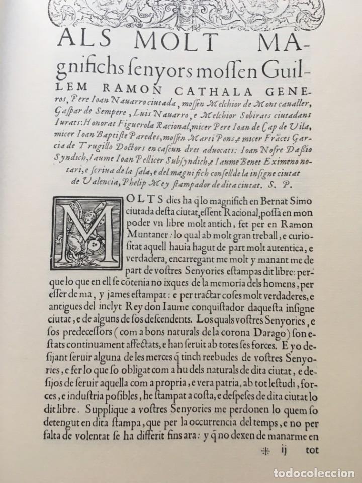 Libros antiguos: LES QUATRE GRANS CRÒNIQUES. 5 VOLS. - Jaume I - Bernat Desclot - Muntaner - Pere -LIMITADA NUMERADA - Foto 15 - 183507750