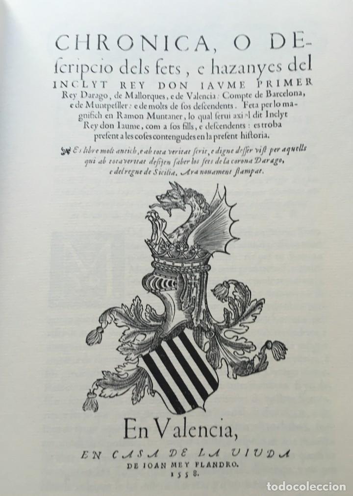 Libros antiguos: LES QUATRE GRANS CRÒNIQUES. 5 VOLS. - Jaume I - Bernat Desclot - Muntaner - Pere -LIMITADA NUMERADA - Foto 16 - 183507750