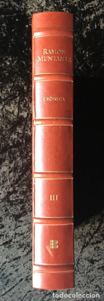 Libros antiguos: LES QUATRE GRANS CRÒNIQUES. 5 VOLS. - Jaume I - Bernat Desclot - Muntaner - Pere -LIMITADA NUMERADA - Foto 20 - 183507750